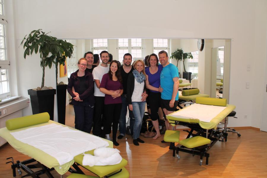 Physiotherapie Reset gesamtes Team