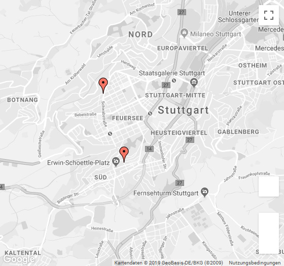 reset Stuttgart Standorte